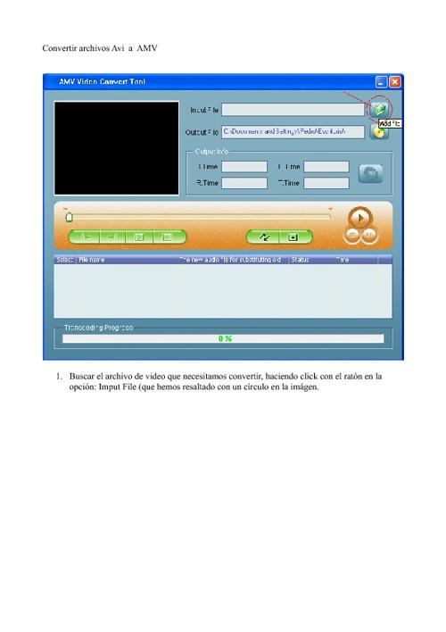 Cómo convertir archivos Avi a formato AMV