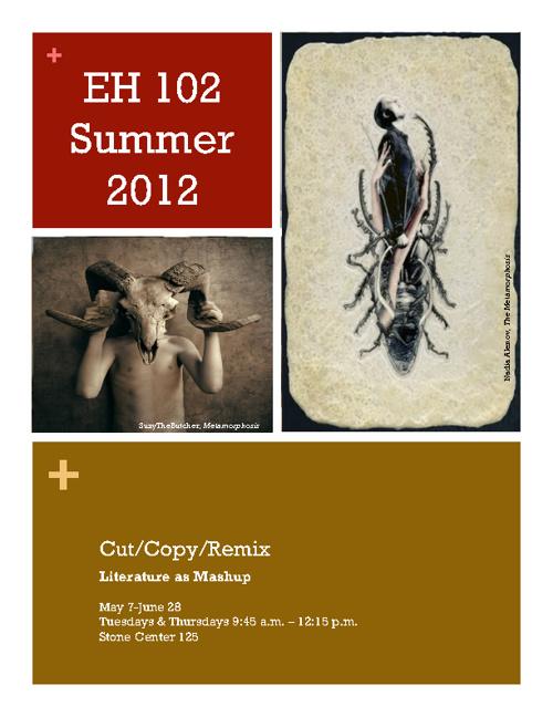 Summer EH 102 Syllabus