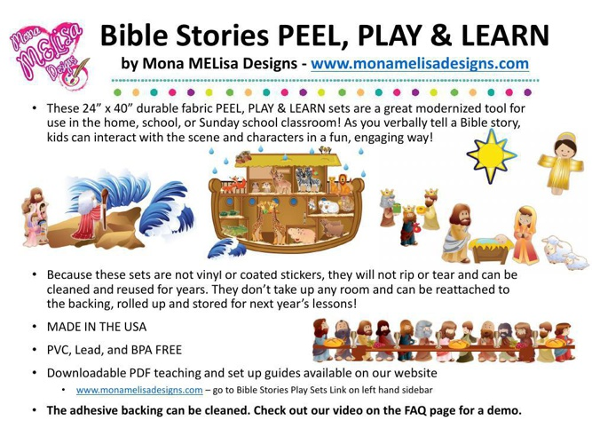 Bible Stories Presentation