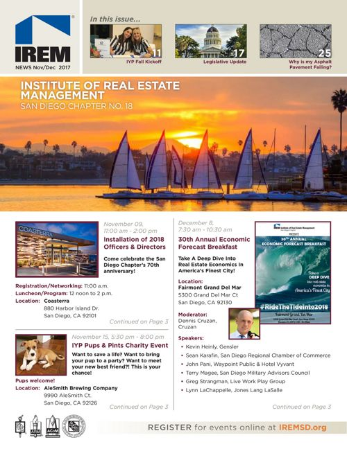 IREM SD Nov/Dec 2017 Newsletter