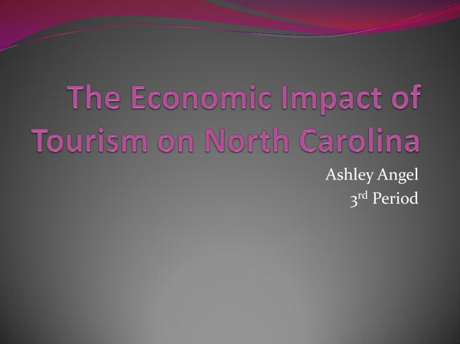 The Economic Impact of Tourism on North Carolina