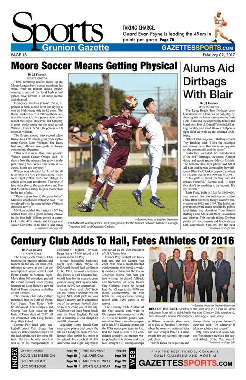 Gazette Sports  |  February 2, 2017