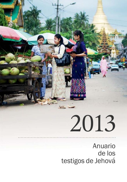Anuario de los testigos de Jehová 2013