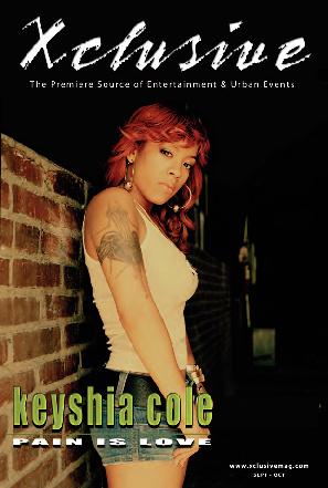 Xclusive Magazine - Keisha Cole