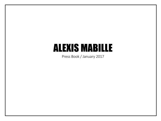 PRESS BOOK january