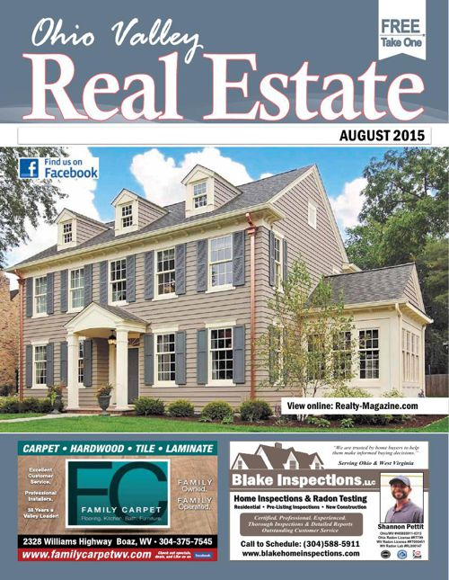 Ohio Valley Real Estate Magazine - Parkersburg, WV & Marietta, O