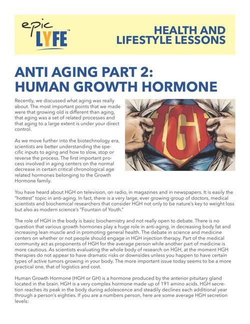 Anti Aging Part 2