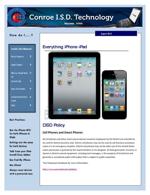 iPhone-iPad:  Begin Here