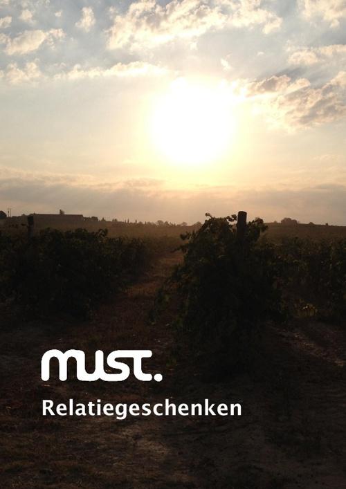 MUST Relatiegeschenken 2012