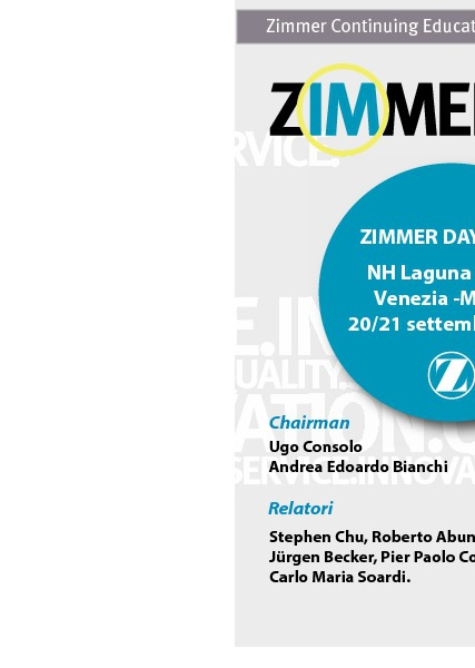 ZIMMER DAY 2012