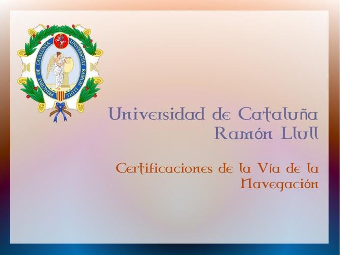 Diplomas Técnicos Navales