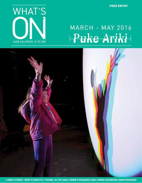 Puke Ariki What's On - March - May 2016