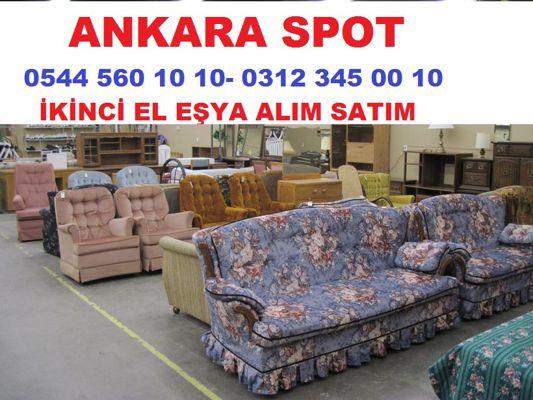 Ankara İkinci El Mobilya Alanlar 0544 560 10 10 Alan Yerler Spot