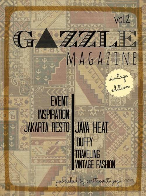 gazzle magazine vol.2 (vintage edition)