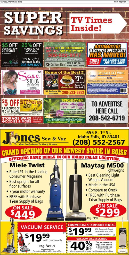 03-22-15 TV Times