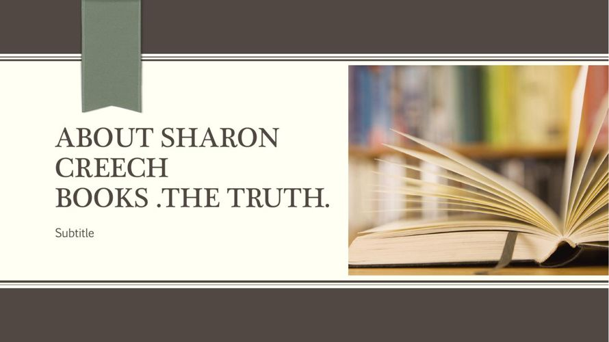 the truth about Sharon creach Books [utosaved]
