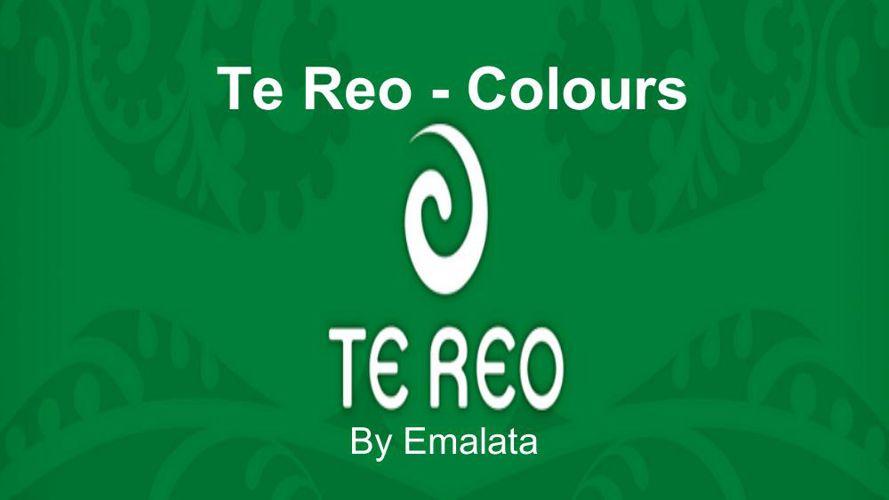 Te Reo - Colours