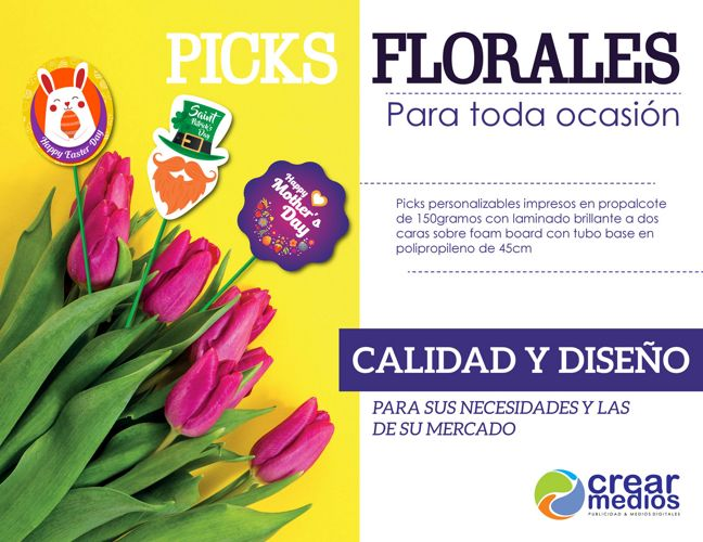 Picks florales para toda ocasión