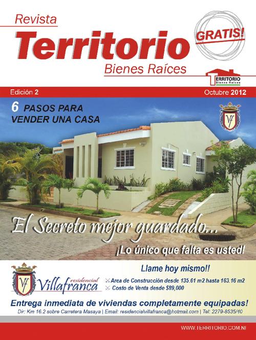 Edicion 2 - Octubre - Revista Territorio Bienes Raices