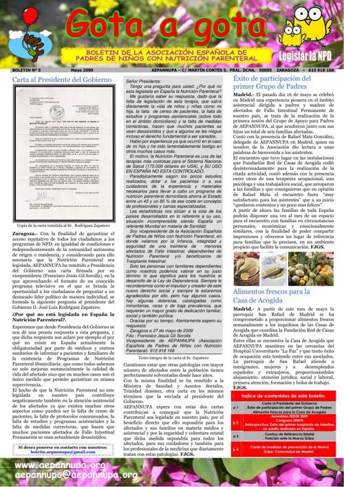 Boletín 5 Mayo 2009