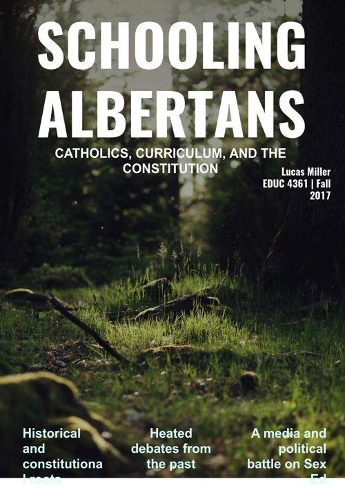 Schooling Albertans