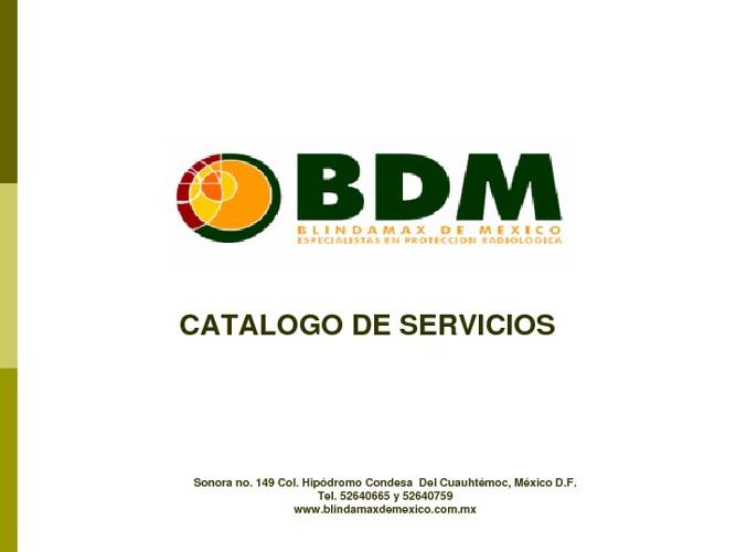 BDM Catalogo