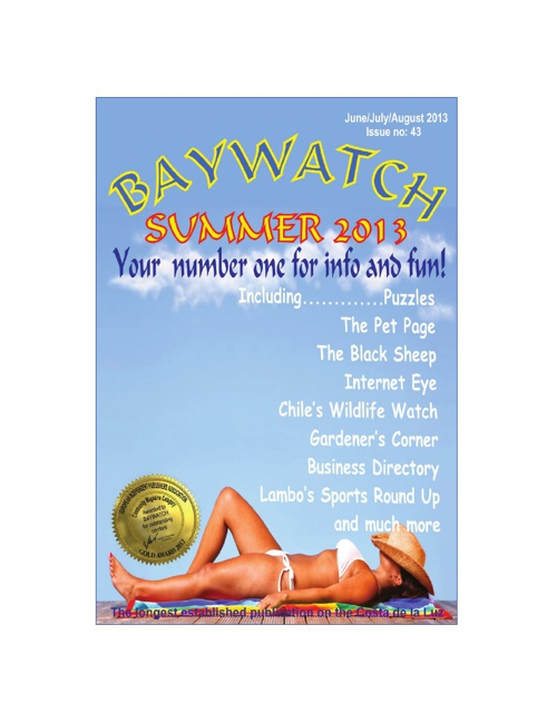 Baywatch June/July/August 2013