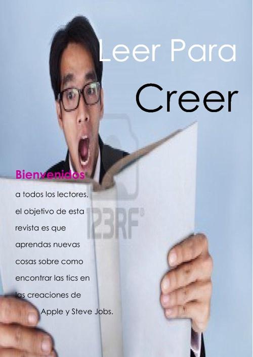 REVISTA LEER PARA CREER