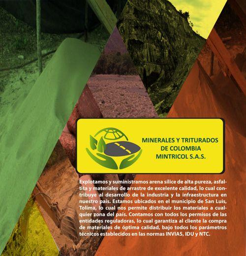BROCHURE MINERALES Y TRITURADOS DE COLOMBIA MITRICOL S.A.S