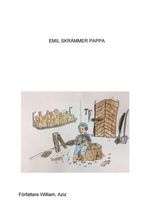 Emil skrämmer pappa (1)