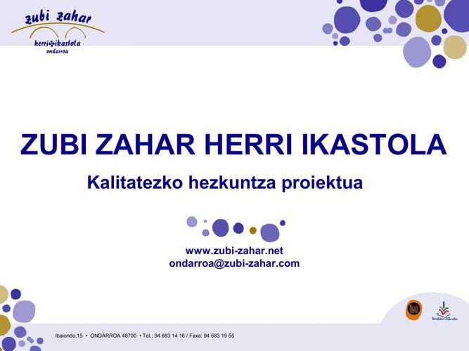 Copy of IKASTOLAKO INFORMAZIOA 2014-15