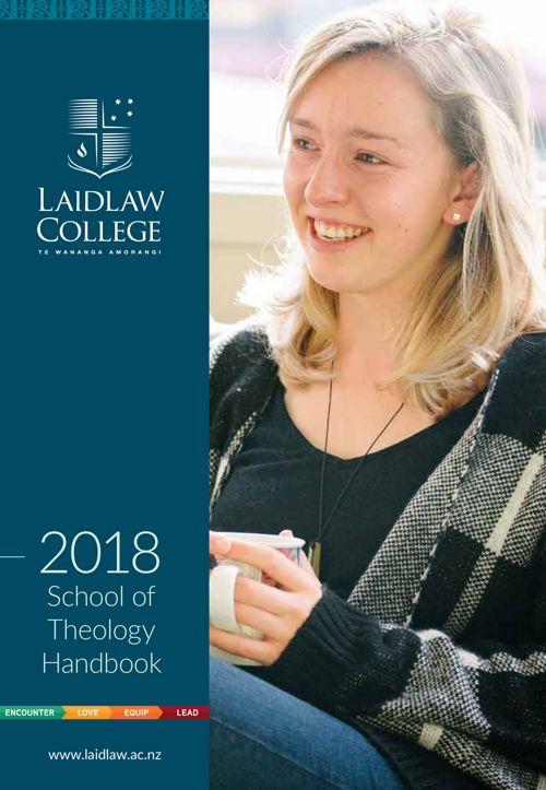 Theology Handbook 2018