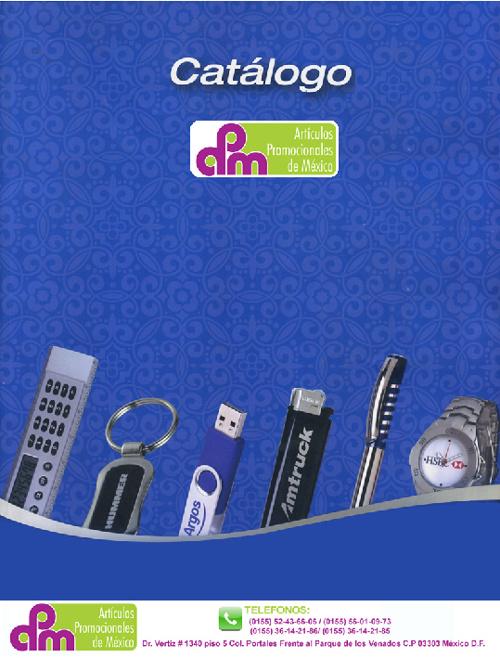 Catalogo-http://articulospromocionalesdemexico.com