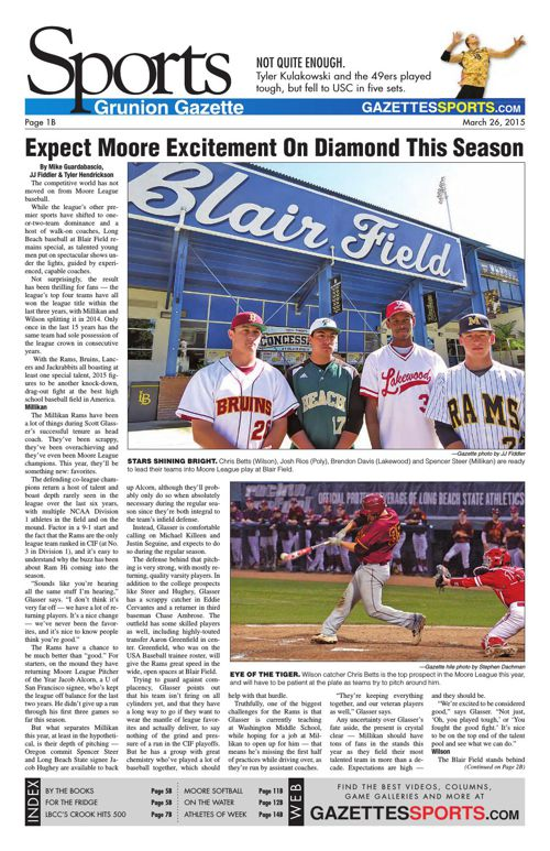 Gazette Sports | March 26, 2015