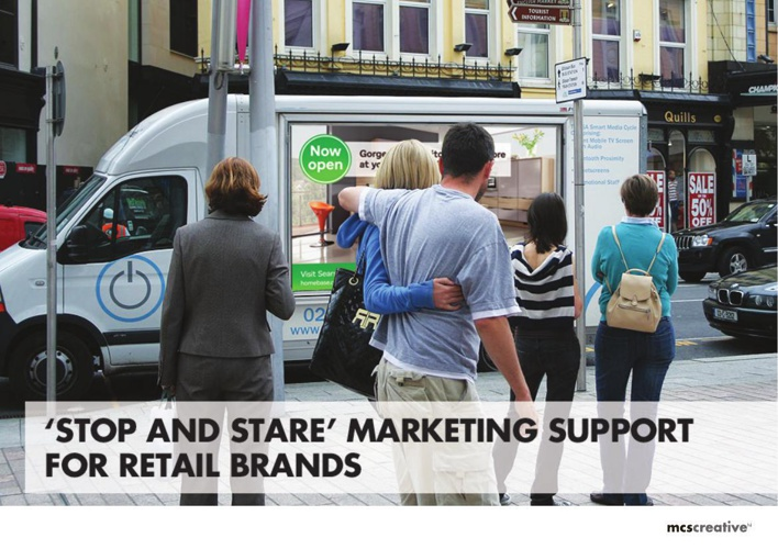 Marketing support for retail brands | MCS Creat