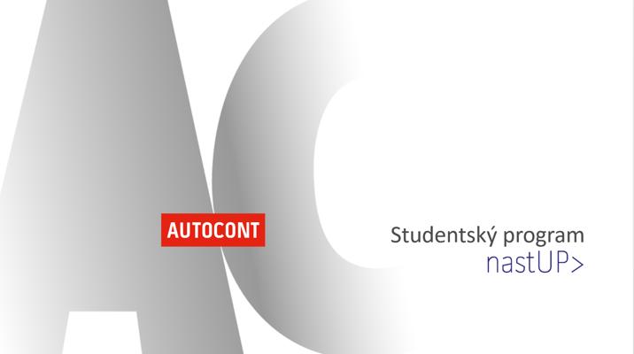 Studentský program nastUP - AutoCont CZ a.s.