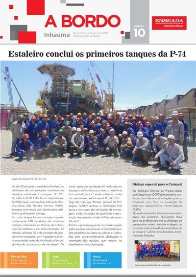 Jornal A Bordo - Edição 10