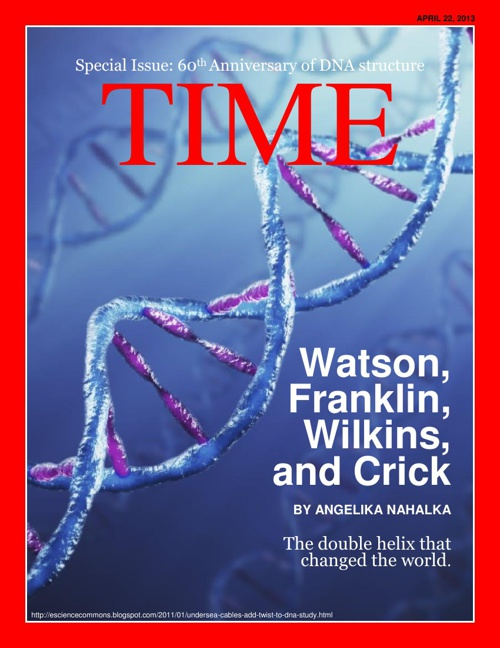 DNA Anniversary Issue of TIME Magazine
