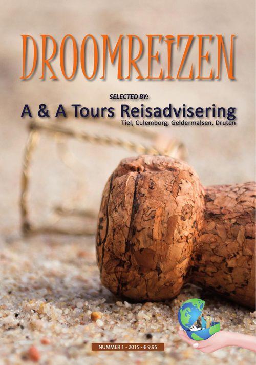 REISBURO A&A TOURS - DROOMREIZEN 2015
