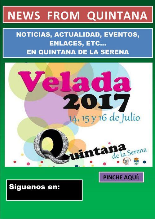 GUÍA DE EVENTOS A PARTIR DEL 12 JULIO EN QUINTANA DE SERENA