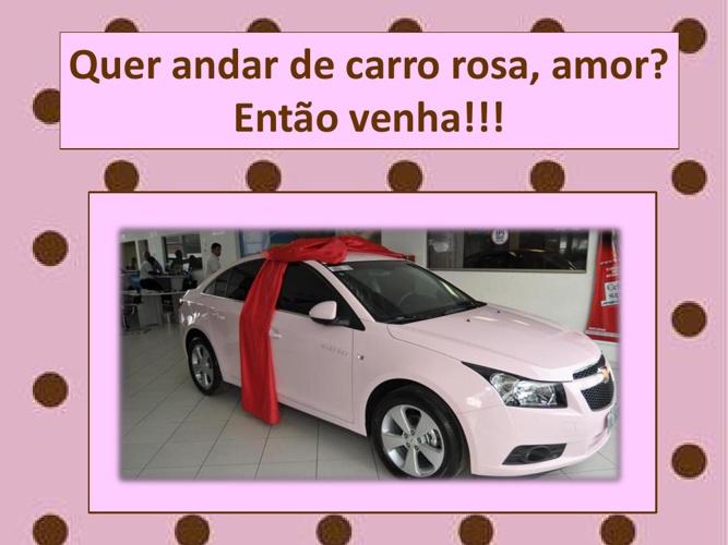 QUER ANDAR DE CARRO DE ROSA, AMOR, ENTÃO VENHA!!