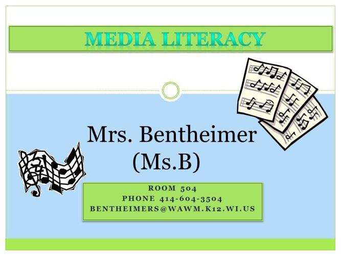 Media Literacy Syllabus