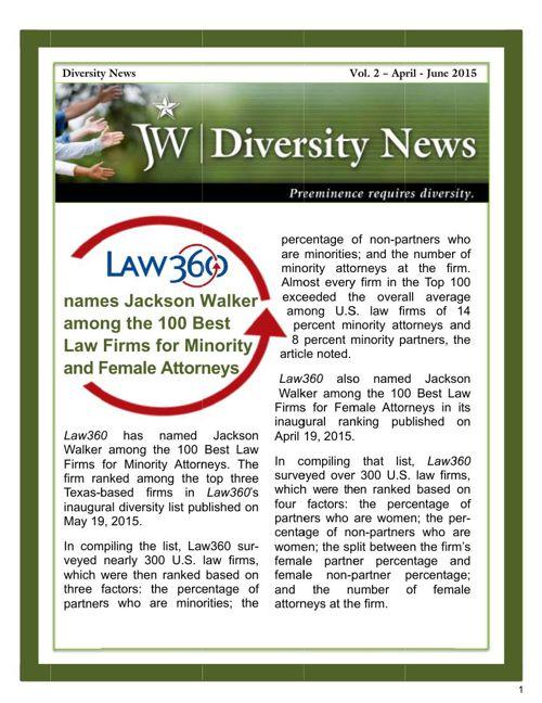Diversity News-Vol. 2-April-June2015