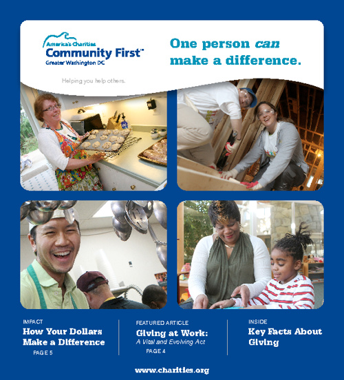 America's Charities Community1st  Brochure