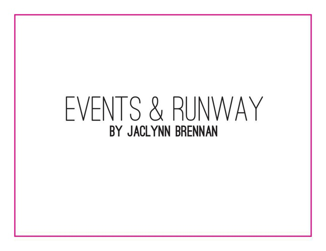Events & Runway Production