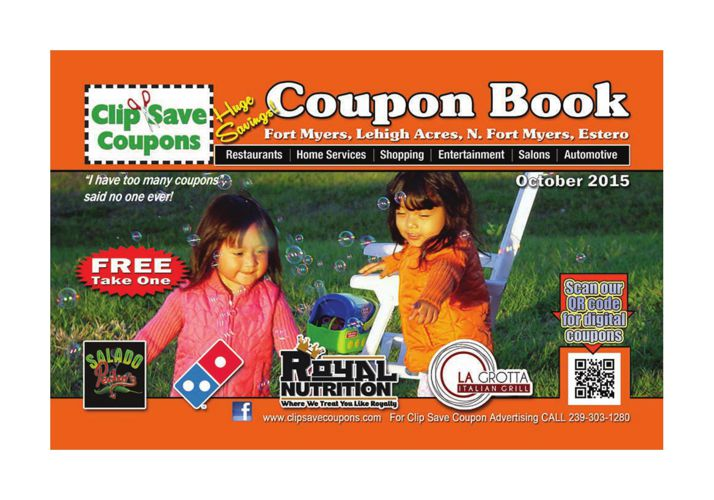 Clip Save Coupons October 2015