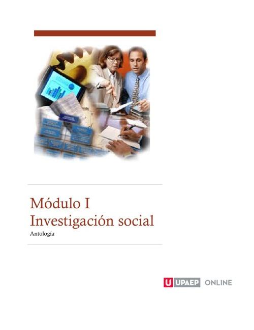 Antología Técnicas de Investigación social