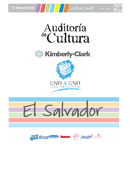 Culture Audit 2012 - El Salvador