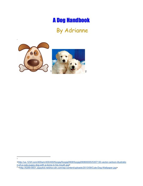 Copy of A Dog's Handbook