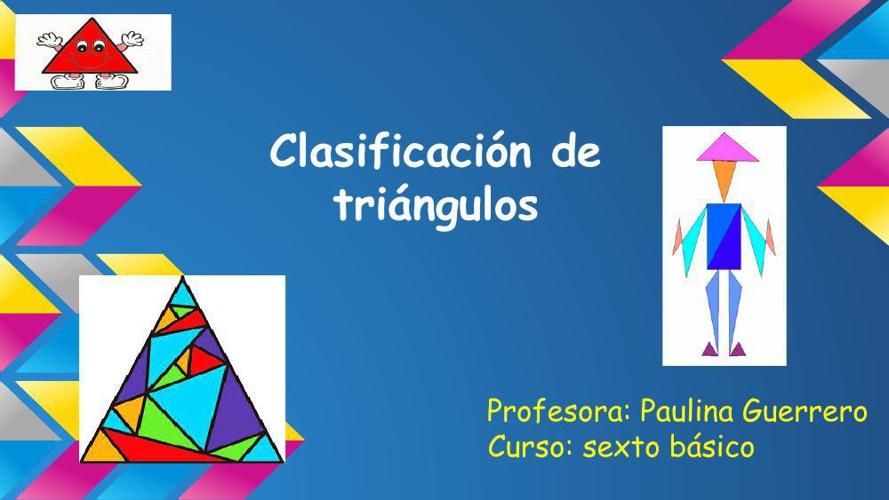 Presentación de matemática 6° básico, geometría, Paulina Guerrer